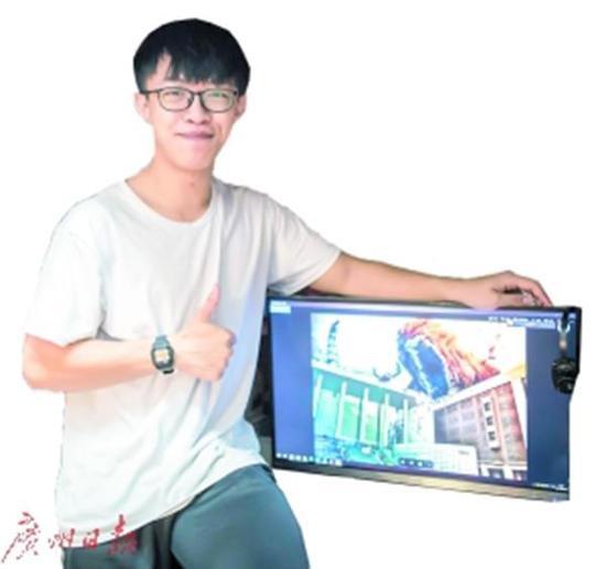 大四物理男把广东高校建筑P上天 绝对的PS大神!