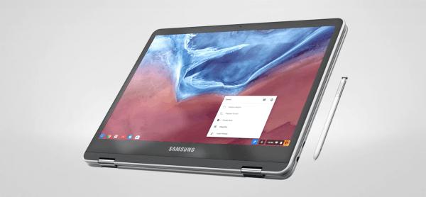 三星新Chromebook笔记本曝光:支持360度旋转、配备触控笔的照片 - 3