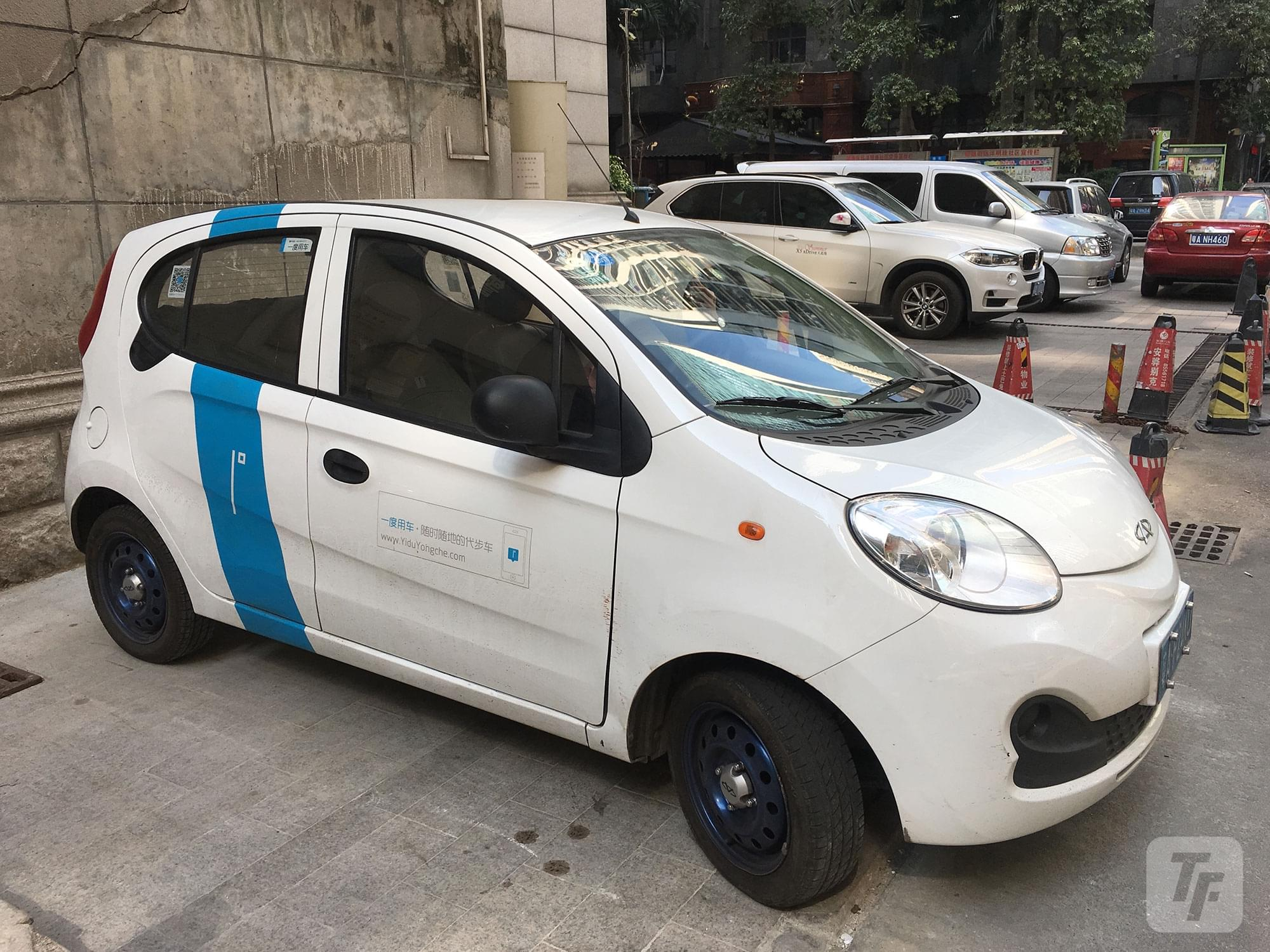 """共享汽车终于来广州 我们试着""""飙""""了一趟的照片 - 1"""
