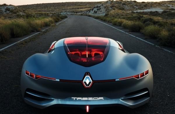 雷诺发布Trezor概念电动超跑:使用蛤壳式车门的照片 - 32