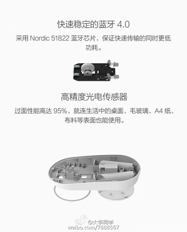99元小米鼠标即将发售 铝合金外壳/不挑桌面的照片 - 4