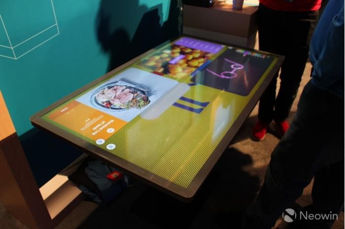 微软展示Kodisoft Windows 10 IoT Core交互式平板的照片 - 3