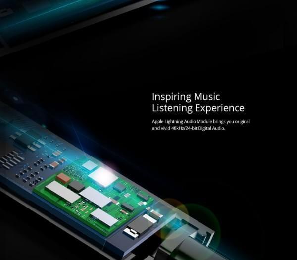 专为iPhone 7设计:全球首款内置DAC的入耳式Lightning耳机的照片 - 4