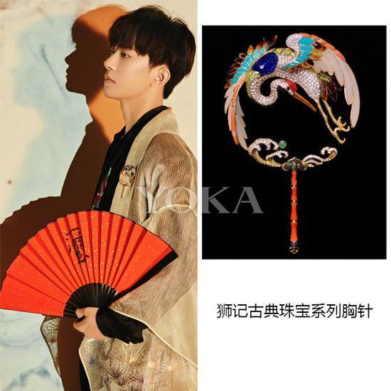易烊千玺(艺人图片来源于TFBOYS组合微博)