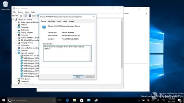 下一版本的Windows 10 RS2将修复Wi-Fi网卡失灵问题的照片 - 1