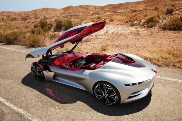 雷诺发布Trezor概念电动超跑:使用蛤壳式车门的照片 - 38