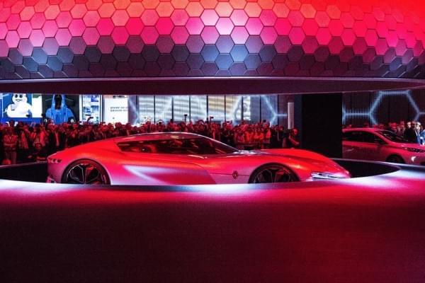 雷诺发布Trezor概念电动超跑:使用蛤壳式车门的照片 - 16