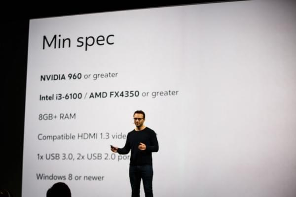 Oculus公司宣布降低PC VR门槛 最低Core i3+NVIDIA 960的照片