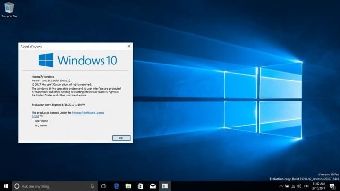 Windows 10 Build 15055发布:正式启用Version 1703的照片 - 4