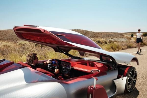 雷诺发布Trezor概念电动超跑:使用蛤壳式车门的照片 - 37