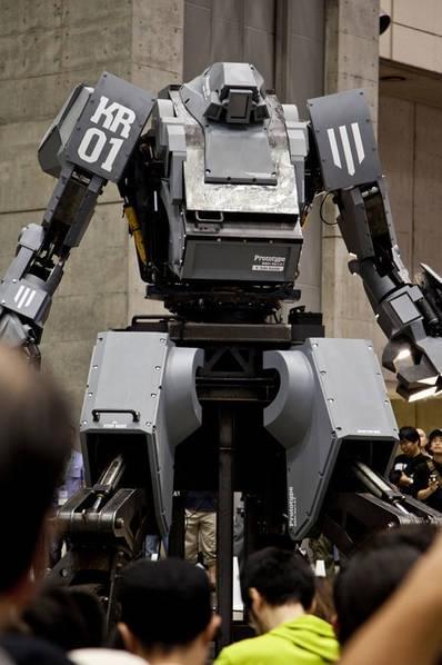 日本研制出可真人驾驶的机器人战士,卖1.2亿日元的照片 - 9