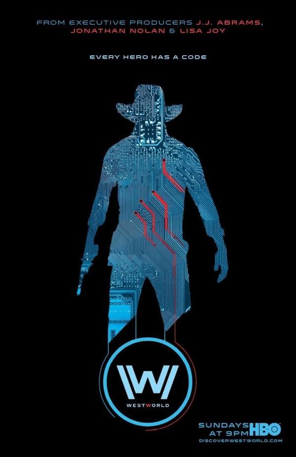 《西部世界》首播获好评 HBO再放两款新海报的照片 - 2