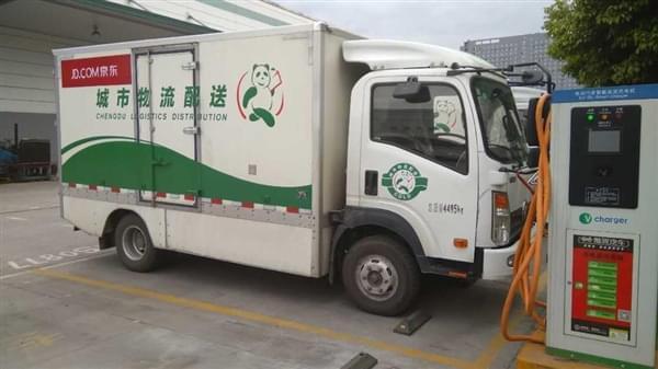 刘强东:5年内全换成自己研发的电动货车的照片 - 1