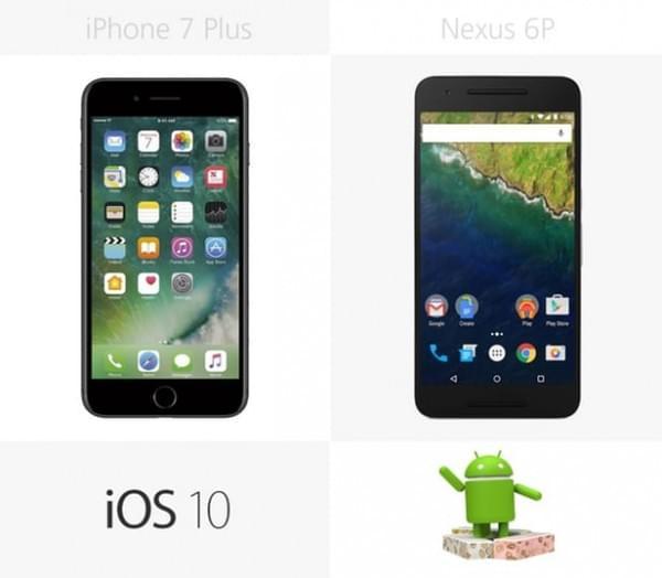 iPhone 7 Plus和Nexus 6P规格参数对比的照片 - 25