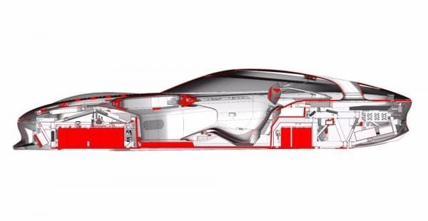 雷诺发布Trezor概念电动超跑:使用蛤壳式车门的照片 - 21