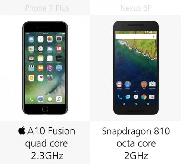 iPhone 7 Plus和Nexus 6P规格参数对比的照片 - 18
