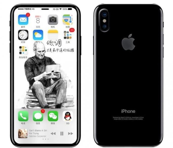 iPhone 8 最新设计图&尺寸草图:尺寸信息已确认的照片 - 1