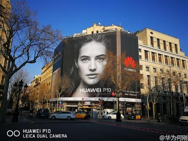 华为P10刚发布就被刷爆欧洲各大街头的照片 - 3