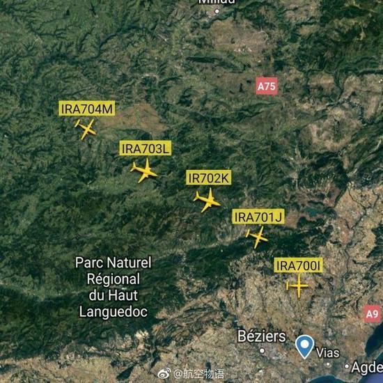 法国ATR公司向伊朗航空交付五架ATR72