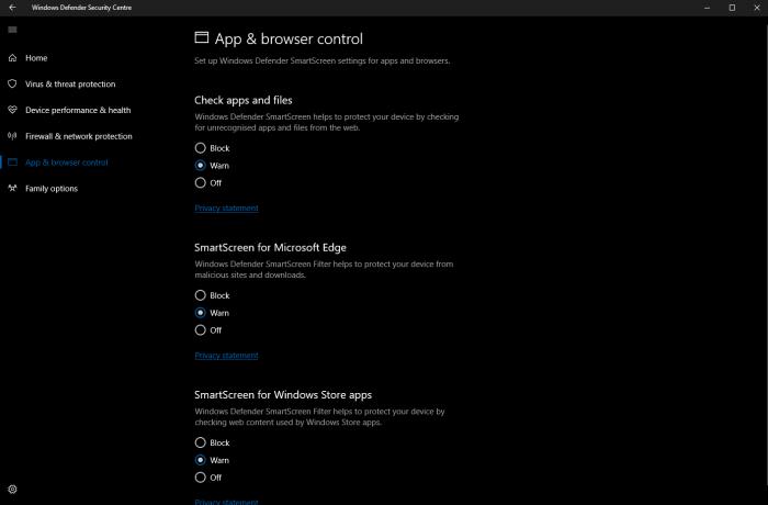 Windows 10 build 15042公布:Windows Defender获改善的照片 - 2