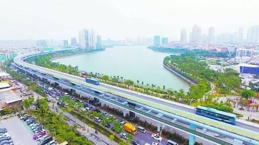 全国首条空中自行车道建成 全长7.6公里的照片 - 4