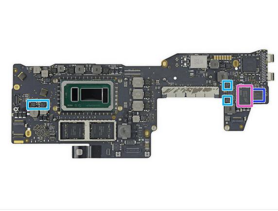 13英寸入门级新MacBook Pro拆解 很难修复的照片 - 34