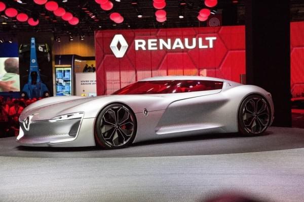 雷诺发布Trezor概念电动超跑:使用蛤壳式车门的照片 - 11