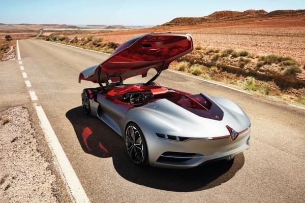 雷诺发布Trezor概念电动超跑:使用蛤壳式车门的照片 - 47