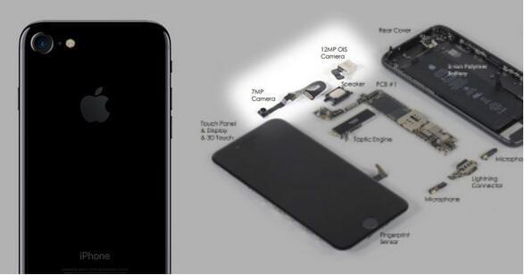 拆解显示iPhone 7成本275美元 电池仅4美元的照片