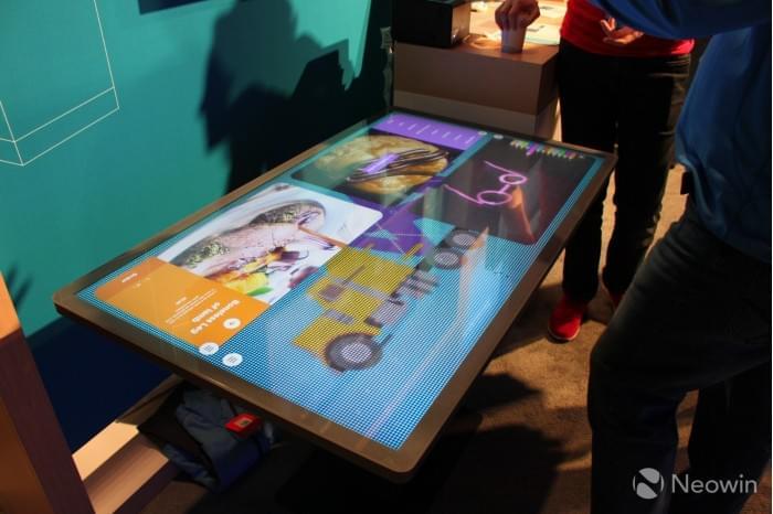 微软展示Kodisoft Windows 10 IoT Core交互式平板的照片 - 2