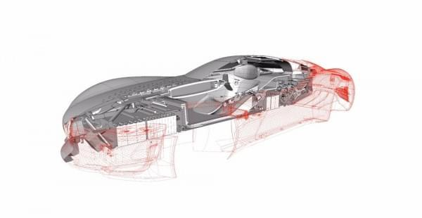 雷诺发布Trezor概念电动超跑:使用蛤壳式车门的照片 - 20