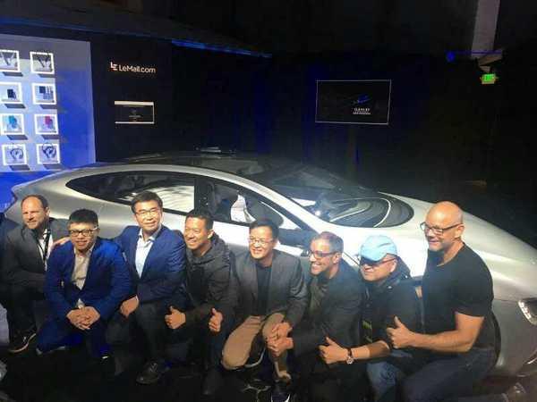 贾跃亭:乐视超级汽车量产版将在明年1月发布的照片 - 2