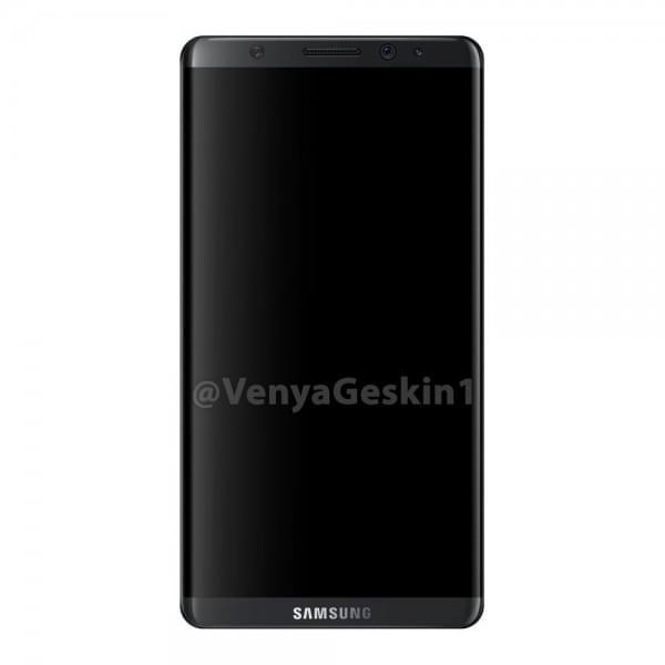 基于可靠信息源 设计师绘制出了三星Galaxy S8的渲染图的照片 - 5