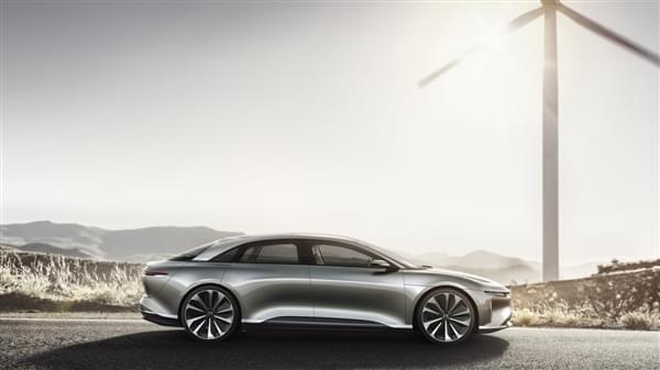 贾跃亭投资的Lucid Motors豪华电动汽车官图公布的照片 - 5