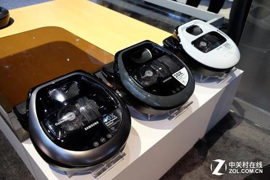 三星POWERbot™ VR7000扫地机器人CES惊艳首秀