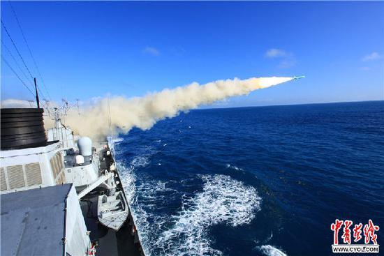 中国052C舰上国产装备不比进口的差 故障率更少