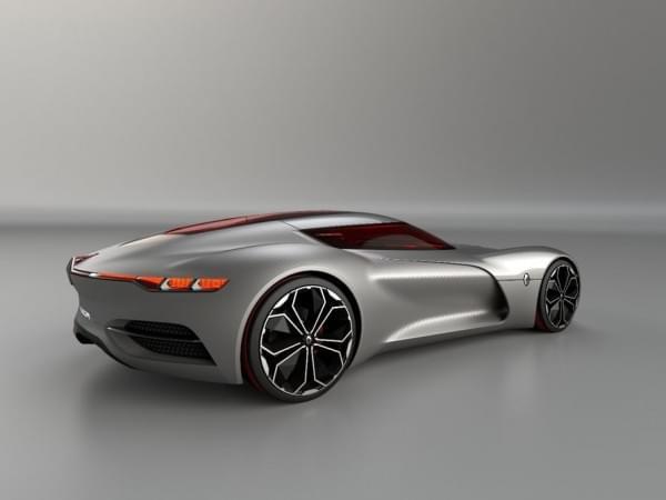 雷诺发布Trezor概念电动超跑:使用蛤壳式车门的照片 - 28