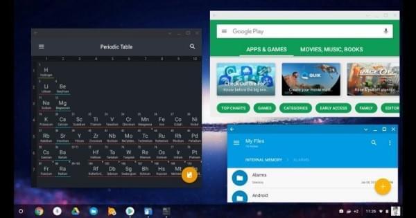Chrome OS运行Android 7.1.1截图曝光的照片 - 1