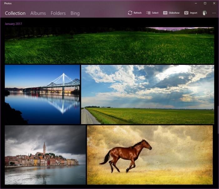 Win10 RS3规划的NEON视觉效果已经可用的照片 - 2