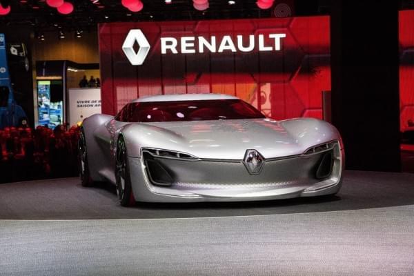 雷诺发布Trezor概念电动超跑:使用蛤壳式车门的照片 - 12
