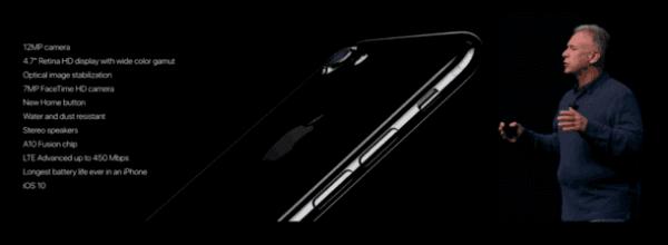 苹果iPhone 7/7 Plus发布:32/128/256GB起售价649美元的照片 - 16