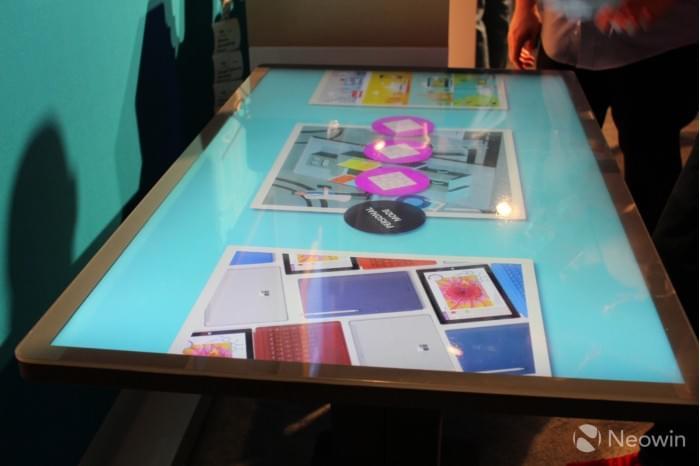 微软展示Kodisoft Windows 10 IoT Core交互式平板的照片 - 6