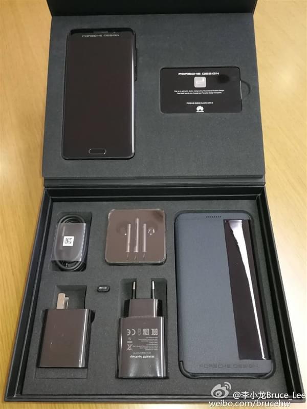 华为Mate 9保时捷版包装盒曝光的照片 - 2