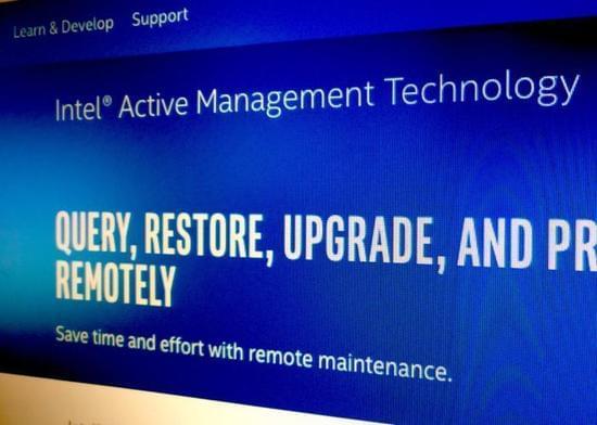 英特尔爆出新漏洞:10年内的企业PC产品受影响的照片