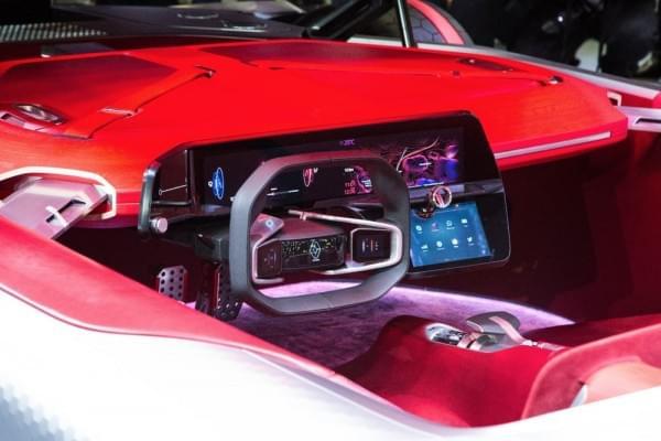雷诺发布Trezor概念电动超跑:使用蛤壳式车门的照片 - 3