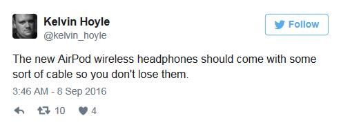 是耳机还是吹风机?看看网友们对AirPods的吐槽的照片 - 11
