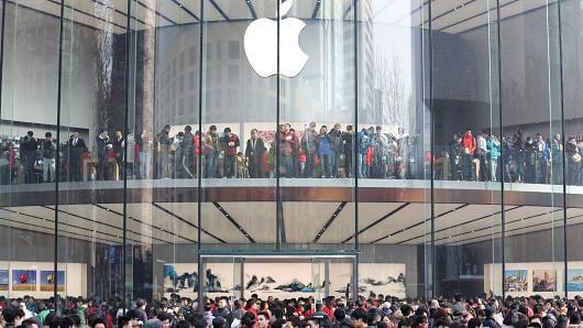 苹果不再公布iPhone首周销量 彭博:中国恐难大卖的照片 - 2