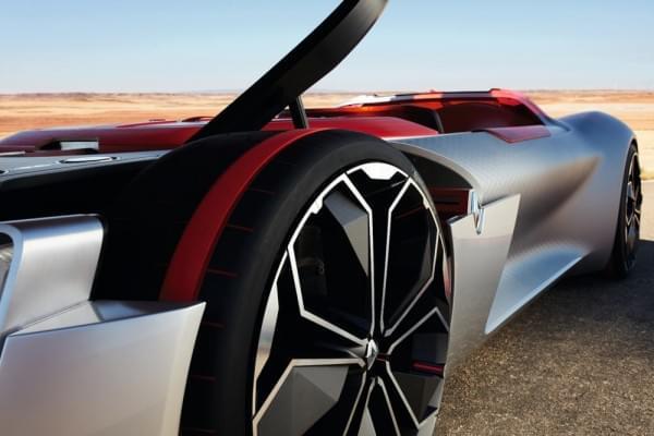 雷诺发布Trezor概念电动超跑:使用蛤壳式车门的照片 - 48