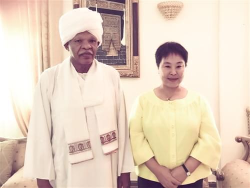 """苏丹总统助理奥德·艾哈迈德·贾兹(Awad Ahmed Al-Jaz): """"加强中非合作,苏丹愿意先试先行"""""""