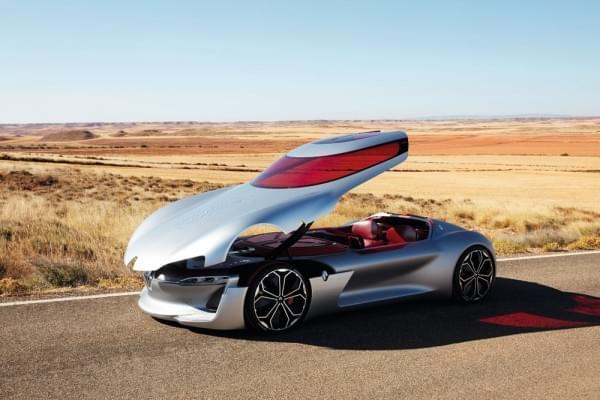 雷诺发布Trezor概念电动超跑:使用蛤壳式车门的照片 - 49